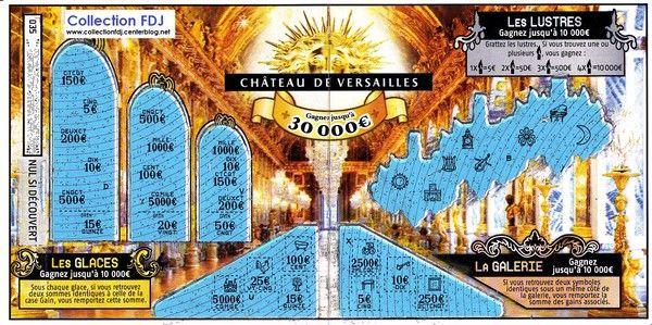 """Partie intérieur du jeu """"Le château de Versailles"""" 47601"""